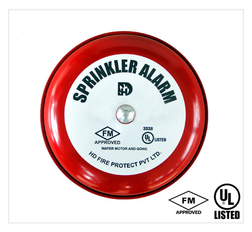 Water Motor Gong Bell - HD FIRE - ẤN ĐỘ